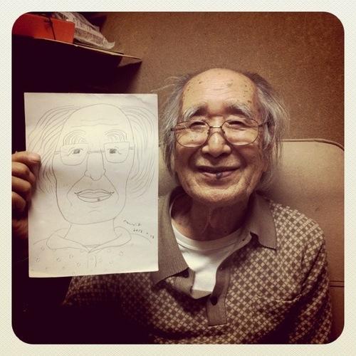 じいちゃん、ばあちゃんに会いに行った
